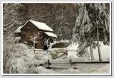 Winter Afternoon  at Bromley Mill on Cuttalossa Farm #1