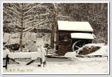 Winter Afternoon  at Bromley Mill on Cuttalossa Farm #2