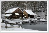Winter Afternoon  at Bromley Mill on Cuttalossa Farm #3