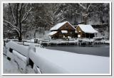 Winter Afternoon  at Bromley Mill on Cuttalossa Farm #4