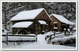 Winter Afternoon  at Bromley Mill on Cuttalossa Farm #5