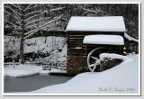 Winter Afternoon  at Bromley Mill on Cuttalossa Farm #6