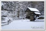 Winter Afternoon  at Bromley Mill on Cuttalossa Farm #7