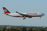Kingfisher Airbus A330-200  VT-VJO