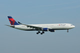 Delta Airbus A330-300 N806NW