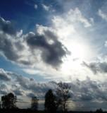 Dutch autumn sky