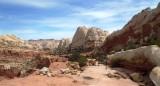 Vast cliffs