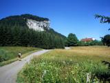 Approaching Mont Fier