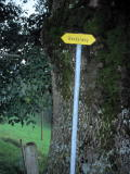 Small signpost