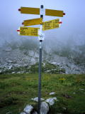 Extensive signpost