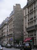 Wall near Tour Jean sans Peur