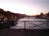 Looking West from Pont des Arts