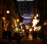 Christmas Lights over rue Mouffetard