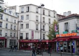 Rue de la Mare, rue des Envierges, rue des Couronnes, rue des Cascades - I could def live here