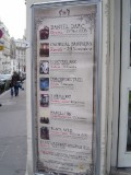 What's Playing in Paris - corner of rue des Couronnes