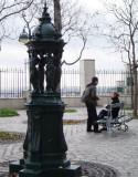 Wallace Fountain near Parc de Belleville