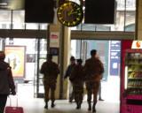 Militia in Gare du Nord