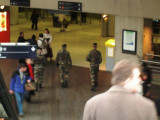 Militia in Gare du Nord - Again!