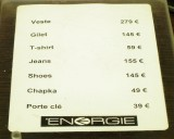 Energie - EXPENSIVE!!