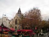 Market at the bottom of Rue Mouffetard