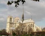 Notre Dame from the Pont de l'Archeveche