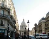 Pantheon as Seen from Rue Soufflot