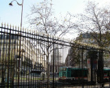 Exit from the Jardin du Luxembourg