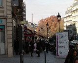 Eiffel Tower Seen from the Latin Quarter!