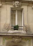Tiles & Sculpture on Rue Larrey