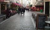 Busy Rue Mouffetard Market Street