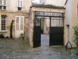 Cour de Rohan - looking into 2nd courtyard