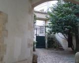 Cour de Rohan - View into 1st courtyard - Steps to Gigi's Home