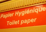 Toilet Paper in French