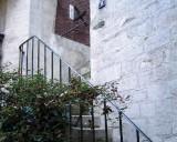 Cour de Rohan - 1st Courtyard - Stairs to Gigi's apartment