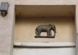 Cour de Rohan - 1st Courtyard - Detail of Elephant