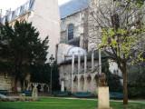 St-Germain-des-Pres Church - Square L. Prache - Picasso's Apollinaire Bust