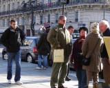 Tourists in St-Germain-des-Pres