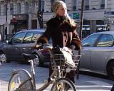 St-Germain-des-Pres Cyclist