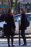 Parisians in Black - Place Sartre-Beauvoir
