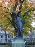Statue de la Liberte - middle west portion of the Jardin du Luxembourg