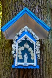 Tree mounted Madonna