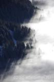 Oostenrijk in de mist