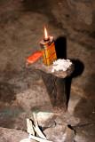 light source in Maasai home