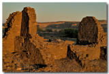 Casa Chiquita sunset, Chaco Canyon