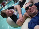 7th August 2006 - Typhoon Lagoon SP with Chris