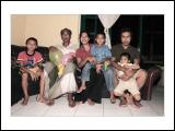 My father and My Sister's family