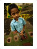 Pandu with His Kite