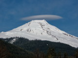 Mount Baker with Lenticular Cloud