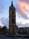Turkish clock tower Jaffa.JPG