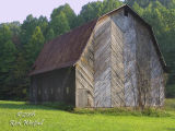 Old Barn on Chapel Road near Gassaway, Baxton County